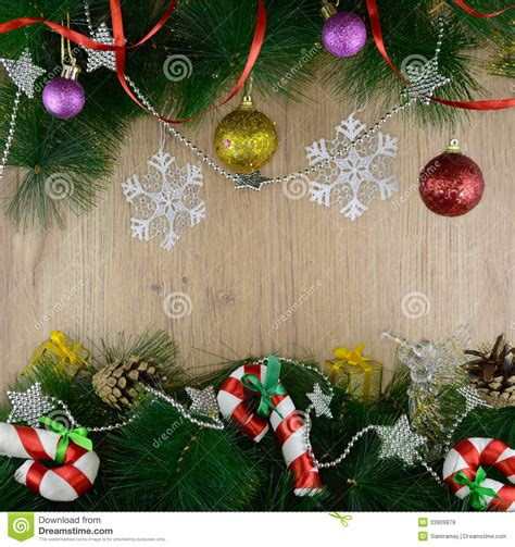christmas frame  candy sticks royalty  stock  image