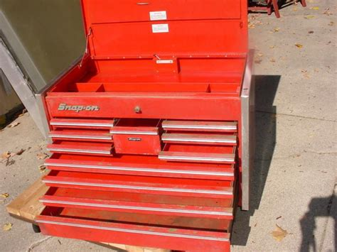 Snap On 11 Drawer Tool Box buy snap on top tool box kr 550b 11 drawer with key kr550