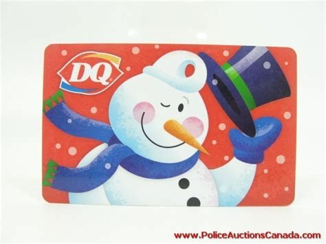 Dairy Queen Gift Card Balance - police auctions canada dairy queen orange julius gift card 50 88 128376c