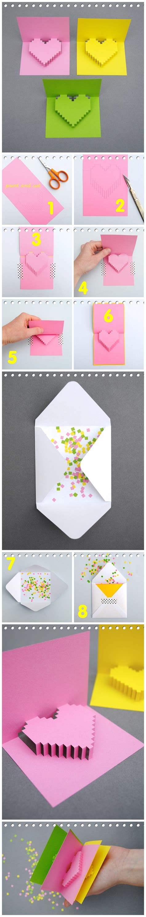how to make a shaped card how to make 3d shape greeting card
