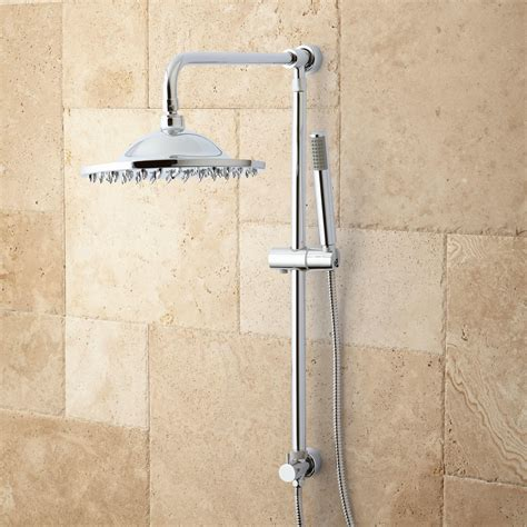 Bathroom Shower Systems Bostonian Brass Rainfall Nozzle Shower System With Shower Shower Bathroom