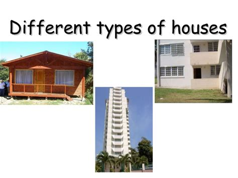 what are the different styles of houses types of houses