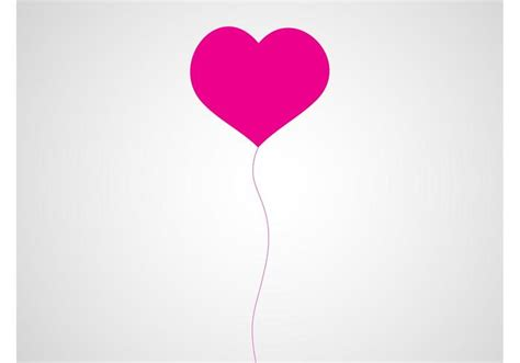 Heart balloon vector download free vector art stock graphics amp images