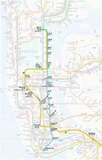 2nd Avenue Subway Map second avenue subway map