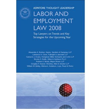 key aspects of german employment and labour books labor and employment 2008 aspatore books 9780314987099
