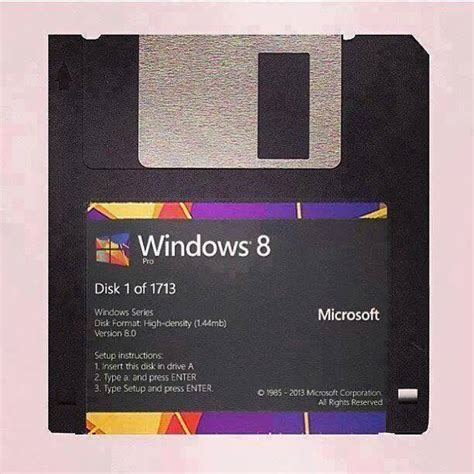 Disket Dos windows 8 on floppy disks serious severity