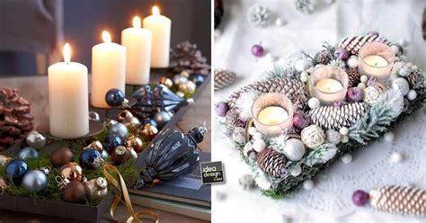 tavola natale fai da te addobbi natalizi fai da te per la tavola 15 idee per