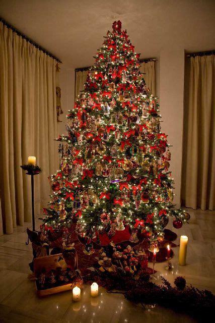 los arboles de navidad mas bonitos nocturnar navidad