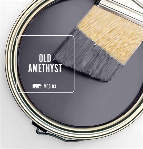Colorfully Behr Color Of The Month Old Amethyst