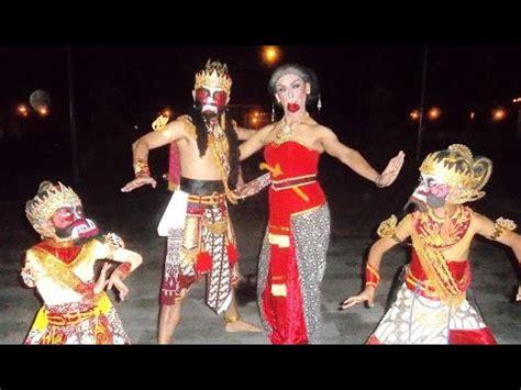tari bambangan cakil super lucu javanese classical dance