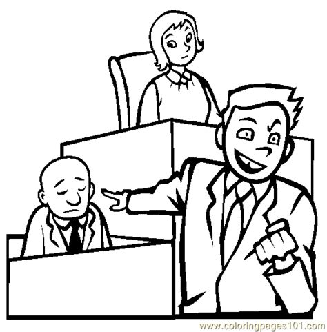 lawyer s coloring book pdf lawyer in court coloring page free profession coloring