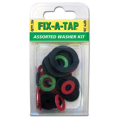 bunnings shower washer kit fix a tap washer kit assorted 26pk bunnings warehouse