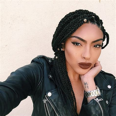 Box Plaits Hairstyles by The Ultimate Guide To Summer Plaits For Black