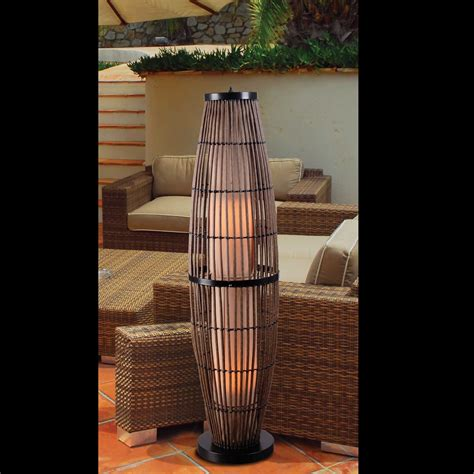 Kenroy Floor L Kenroy Floor L Kenroy Home Hadley 1 Light Outdoor Floor L L Brilliant Source Lighting