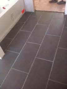 12x24 subway laid tile perhaps not this color but similar look this is probably what we re