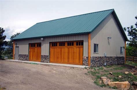 colorado custom garages warm and efficient