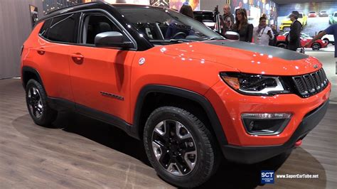 jeep compass trailhawk interior 2017 jeep compass trailhawk exterior and interior