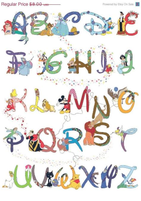Disney Character Letter N 25 Best Ideas About Disney Alphabet On Letter Fonts Handwriting Fonts And