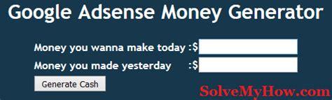 adsense generator how i earned 982 with google adsense last night solve