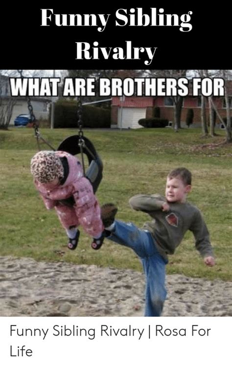 funny sibling rivalry   brothers  funny sibling