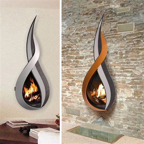 Wall Mount Fireplace Ideas by Elaborate Wall Mounted Fireplaces For Ambiance