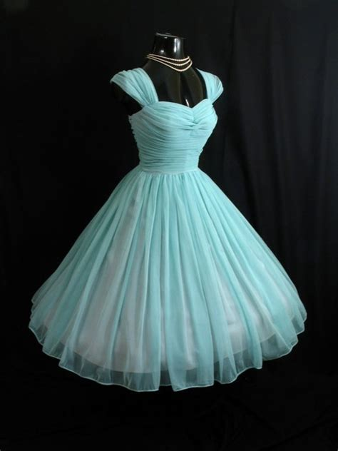 vintage 50s prom dresses prom 1950s vintage turquoise prom dress