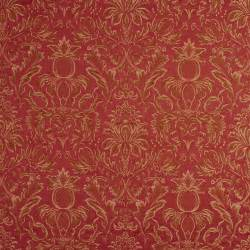 pineapple damask upholstery drapery grade fabric