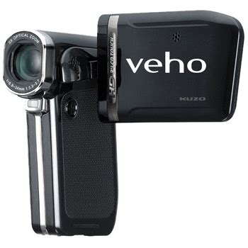 Hd 002 Rubber veho kuzo hd touch screen 1080p recorder