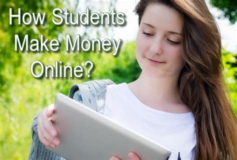 Make Money Online Student - online make money for students make money fast megapolis