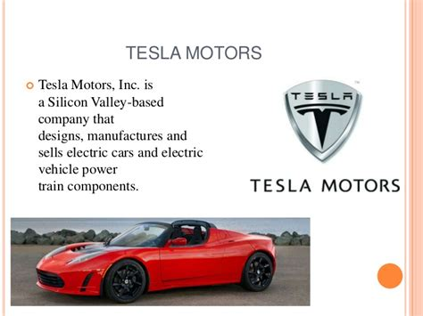 Who Owns Tesla Motors Tesla Motors Ppt