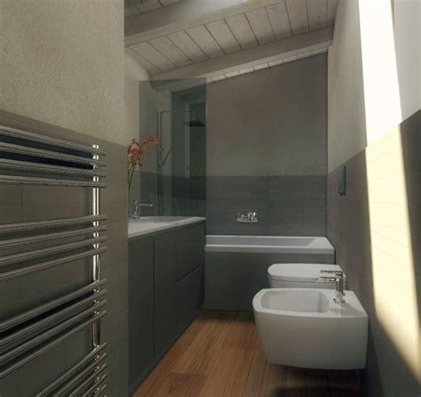 la casa bagno mansarda una casa sottotetto luminosa e contemporanea