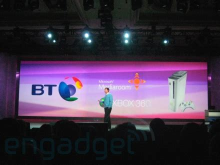 Ces 2008 Bt Vision To Be Available Through Xbox 360 2 by Bt S Vision Of 360 As Set Top Box Plusnet Community