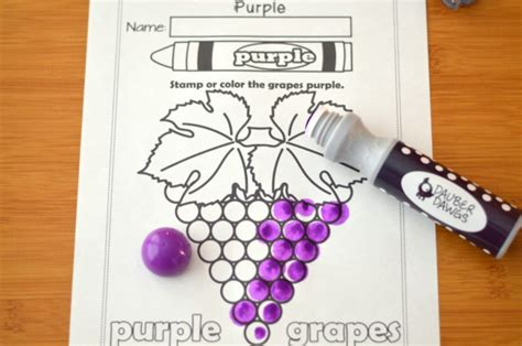 the color purple book activities i my colors printable work book series 9 page