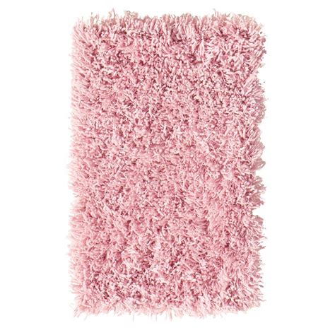 pink shaggy rug home decorators collection premium flokati white 2 ft x 5 ft accent rug 7446410410 the home