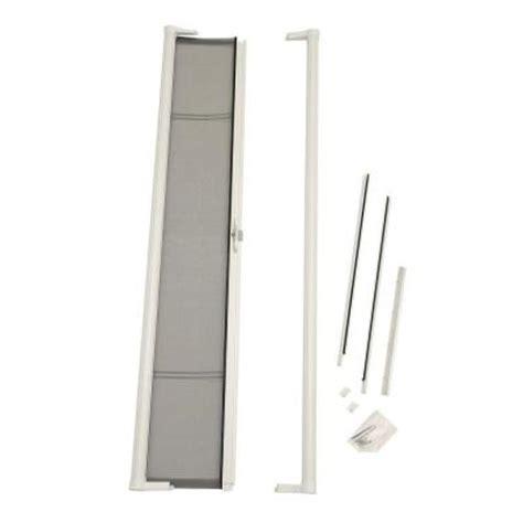 retractable screens for doors home depot odl 36 in x 79 in brisa white retractable screen door