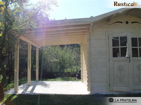 tettoia da giardino tettoia per casetta in legno rustica