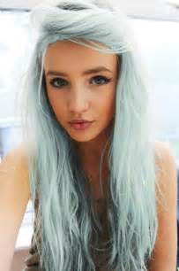pretty hair colors blue hair trend mermaid inspired hair pretty designs