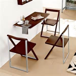 Wall Kitchen Table Wall Folding Table To Maximize Empty Space