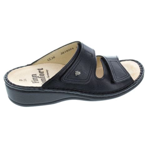 finn comfort jamaica finn comfort jamaica leather soft footbed black