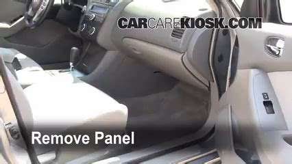 cabin filter replacement nissan altima 2007 2013 2007