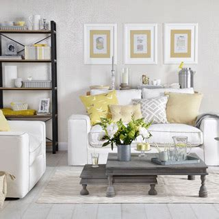 Grey On Grey Living Room by Grey And Yellow Living Room Ideas And D 195 169 Cor Inspiration