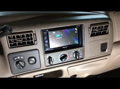 1998 2004 ford f 250 f 350 excursion touch screen