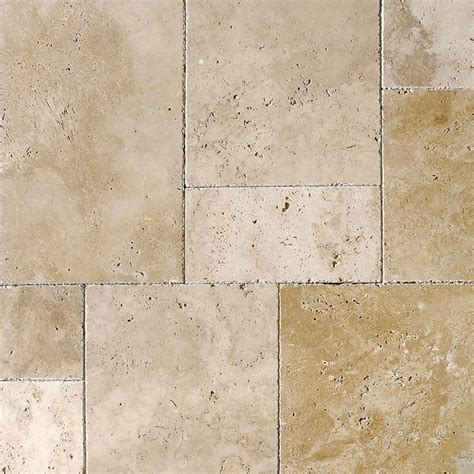 1 Inch Square Floor Tile Ivory by Ivory Pave Real Versailles Pattern Travertine Patterns