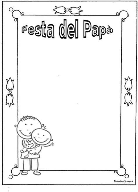 cornici per la festa papã cornicette copertine per festa papa