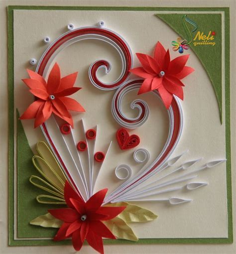 Handmade Greetings Images - neli quilling quilling paper filigree