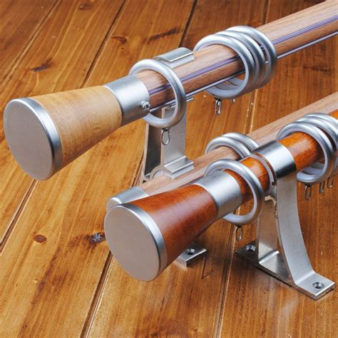 brown curtain rod 1000 ideas about brown curtain poles and tracks on