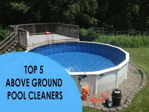 Vacuum Segitiga Pool Kolam Renang above ground pool cleaners our top 5 picks for above ground pools