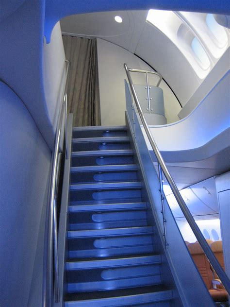 747 8i Interior by File Interior Boeing 747 8i Staircase Jpg