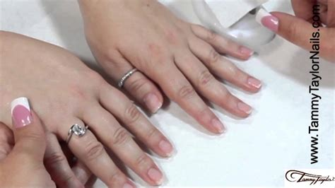 tammy taylor nails inc youtube tammy taylor how to eliminate acrylic nails from lifting