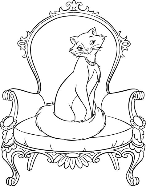coloring pages aristocats disney disney coloring pages